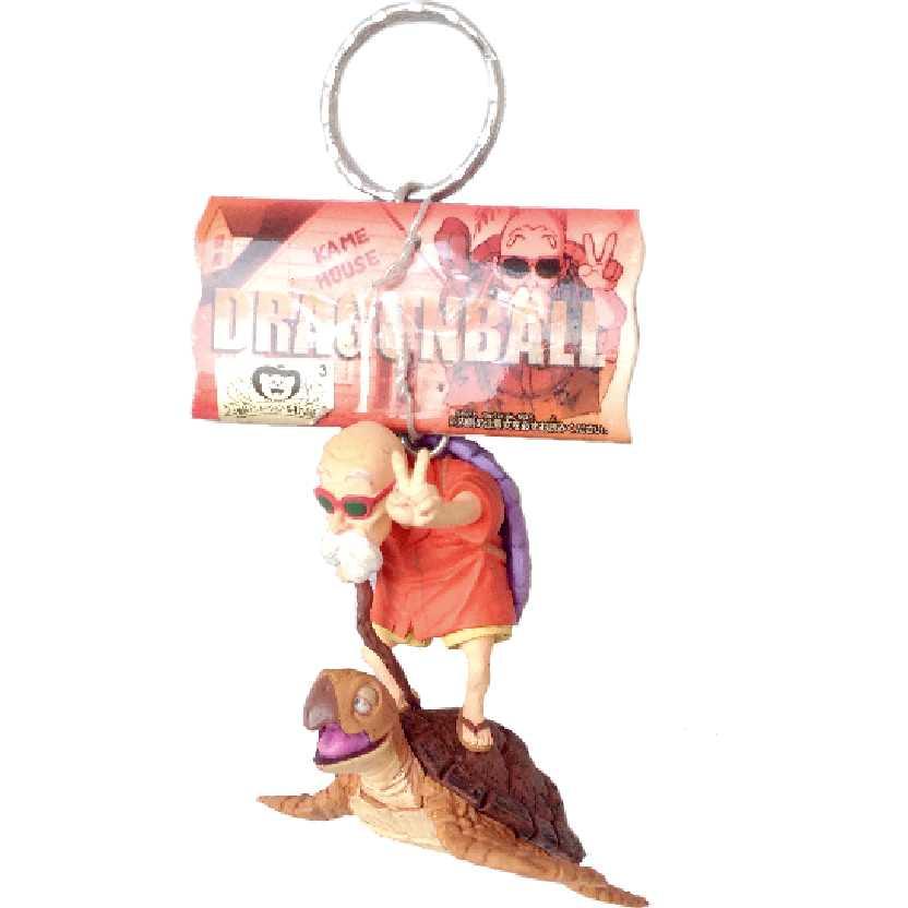 Chaveiro / Boneco Dragon Ball Z Mestre Kami (Master Roshi) + Umigame Banpresto figure