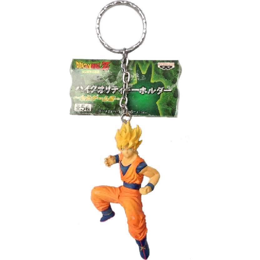 Chaveiro / Boneco Dragon Ball Z Son Goku da Banpresto
