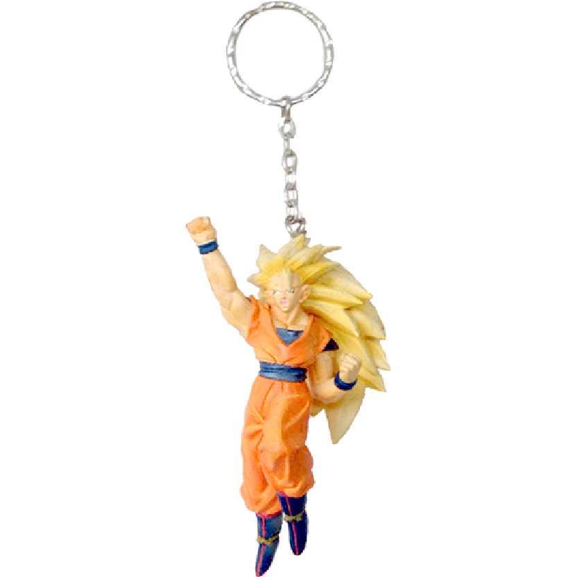 Chaveiro / Boneco Dragon Ball Z Super Saiyan 3 Goku (Son Gokou) da Banpresto