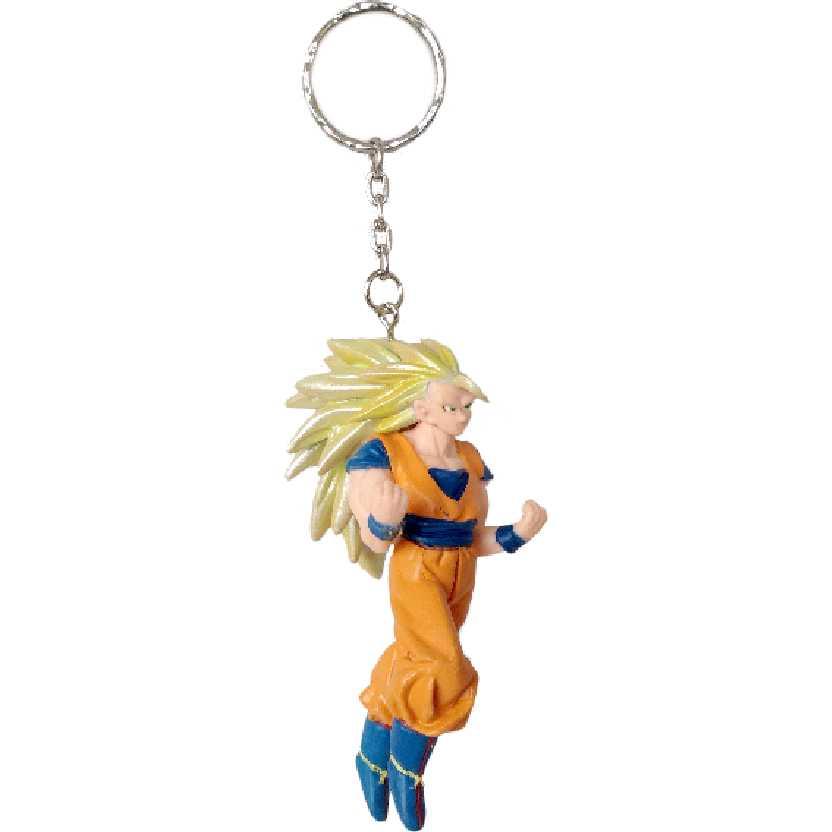 Chaveiro / Boneco Dragon Ball Z Super Saiyan 3 Son Gokou (Goku) da Bandai figure