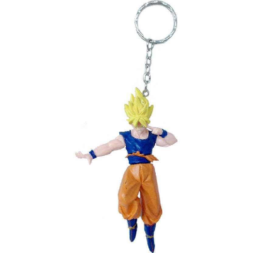 Chaveiro / Boneco Dragon Ball Z Super Saiyan Son Goku (Gokou) da Bandai figure