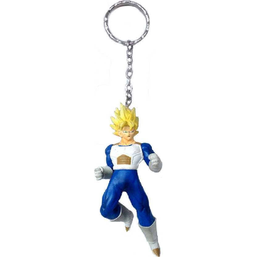 Chaveiro / Boneco Dragon Ball Z Super Saiyan Vegeta da Banpresto