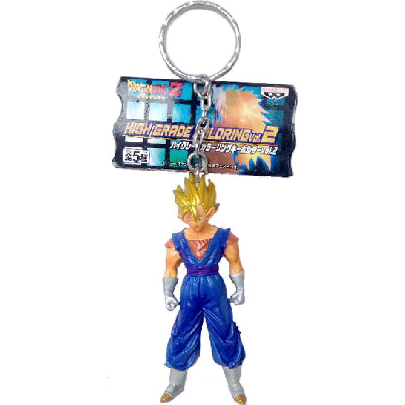 Chaveiro / Boneco Dragon Ball Z Volume 2 Super Saiyan Vegetto da Banpresto
