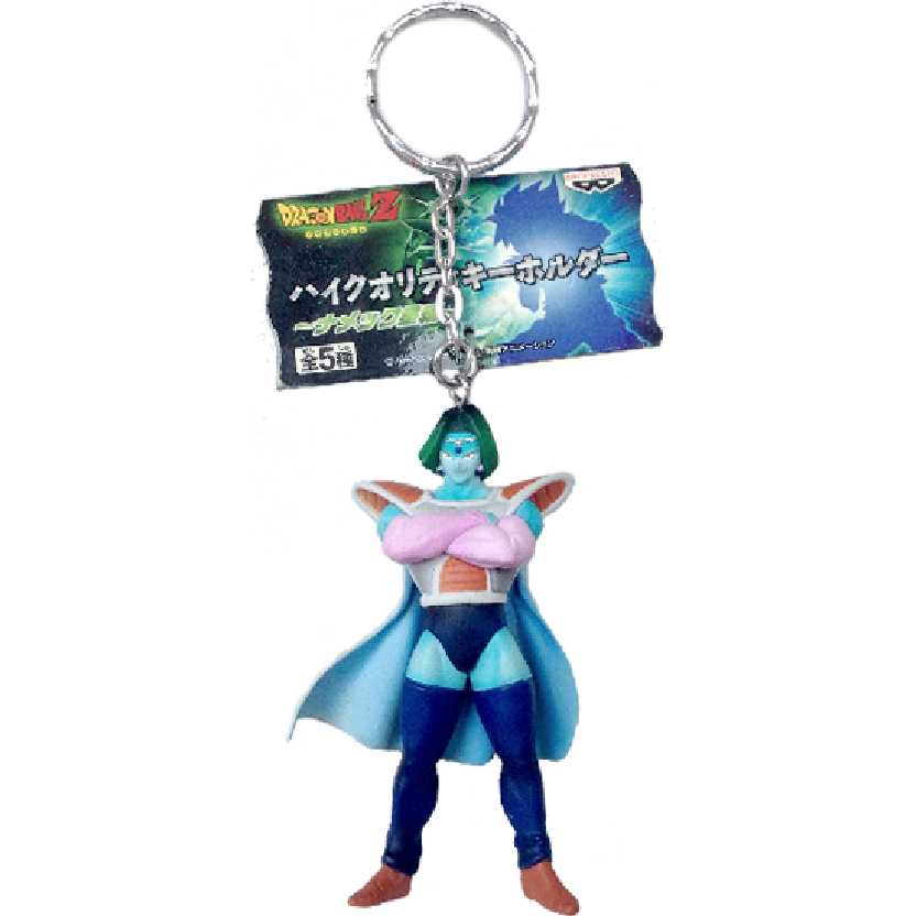 Chaveiro / Boneco Dragon Ball Z Zarbon da Banpresto figure