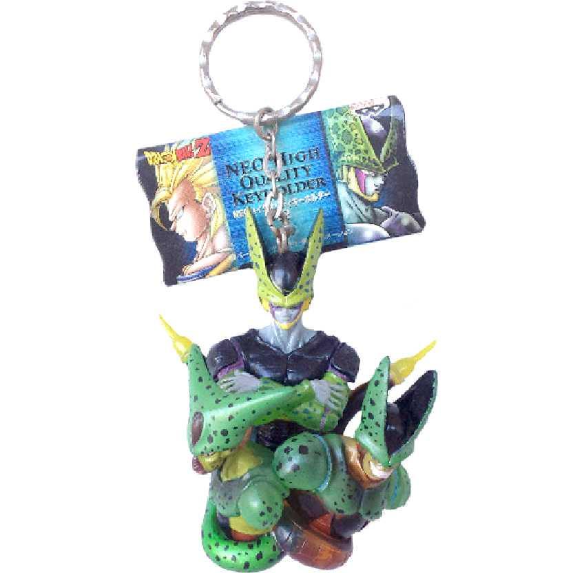 Chaveiro / Busto Dragon Ball Z Imperfect + Perfect Cell Banpresto High Quality Diorama NEO