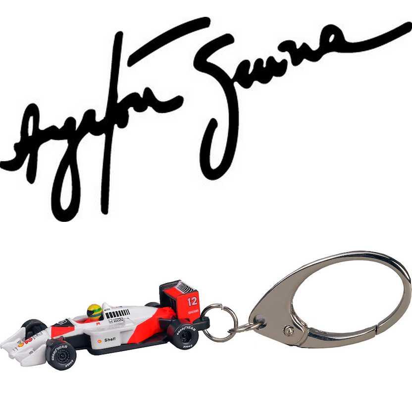 Chaveiro Ayrton Senna McLaren MP4/4 Honda (1988) PCT Premium Collectibles