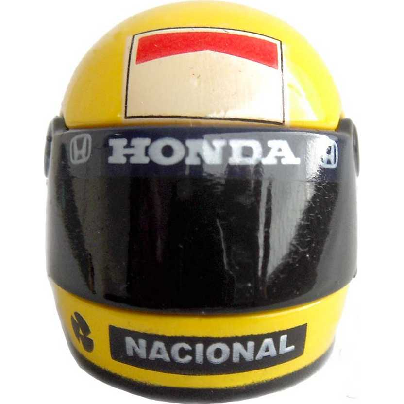Chaveiro capacete Ayrton Senna McLaren (1988) F1 World Champion Helmet Keychain