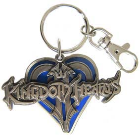 Chaveiro Disney Kingdom Hearts Logo 3D Pewter Monogram
