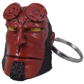 Chaveiro do Hellboy em resina