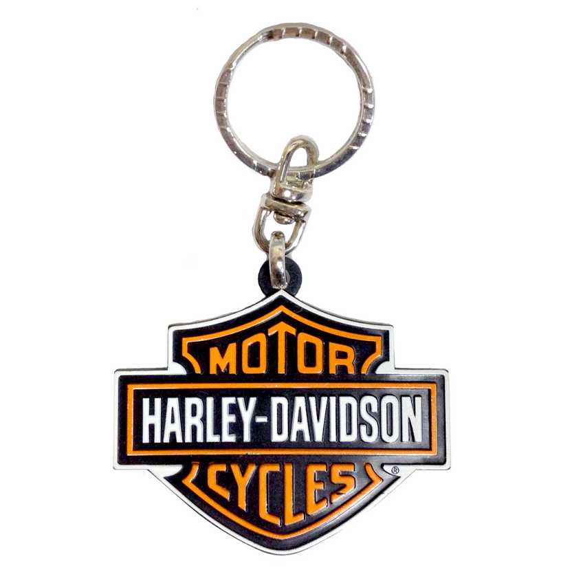 Chaveiro do logo Harley-Davidson marca Maisto