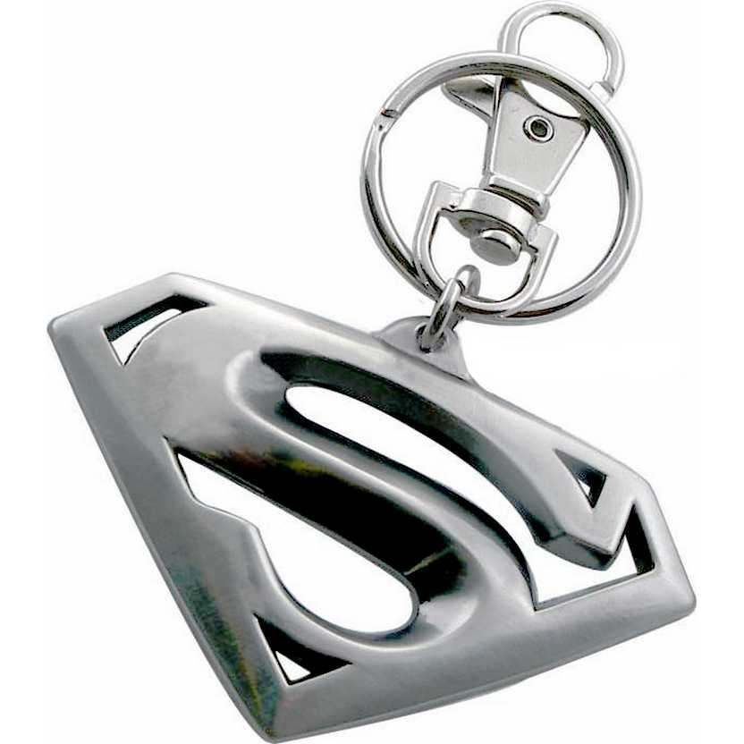 Chaveiro do Super Homem - DC Comics Superman Returns Logo Metal Keychain