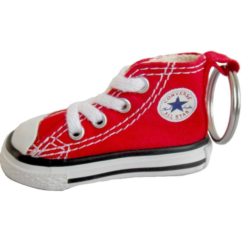 Chaveiro do tênis All Star vermelho