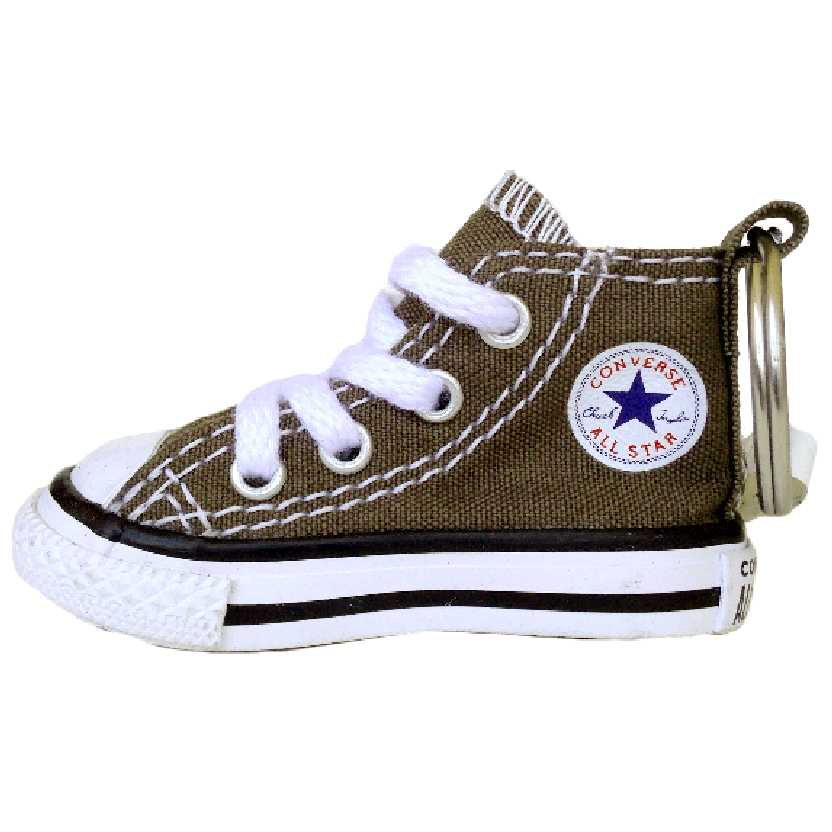 Chaveiro do tênis Converse All Star original cor caqui