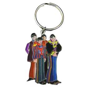 Chaveiro dos Beatles (Paul McCartney, John Lennon, Ringo Starr e George Harrison)