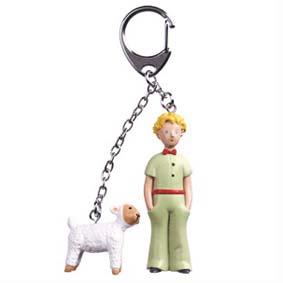 Chaveiro Pequeno Príncipe com ovelha