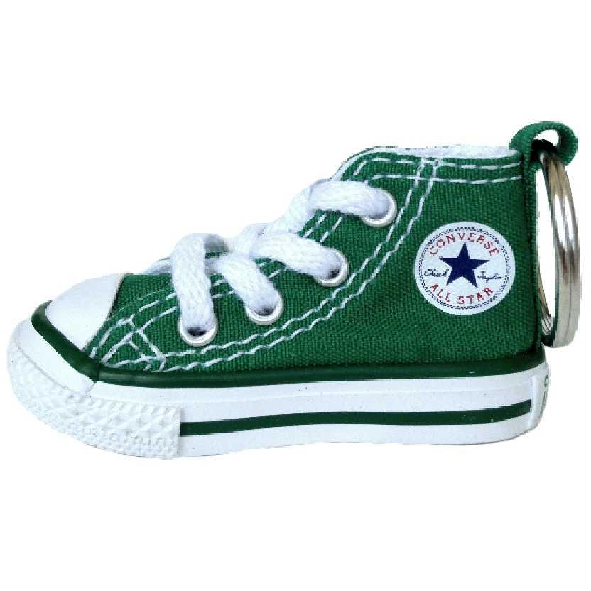 Chaveiro Tênis Converse All Star original cor verde