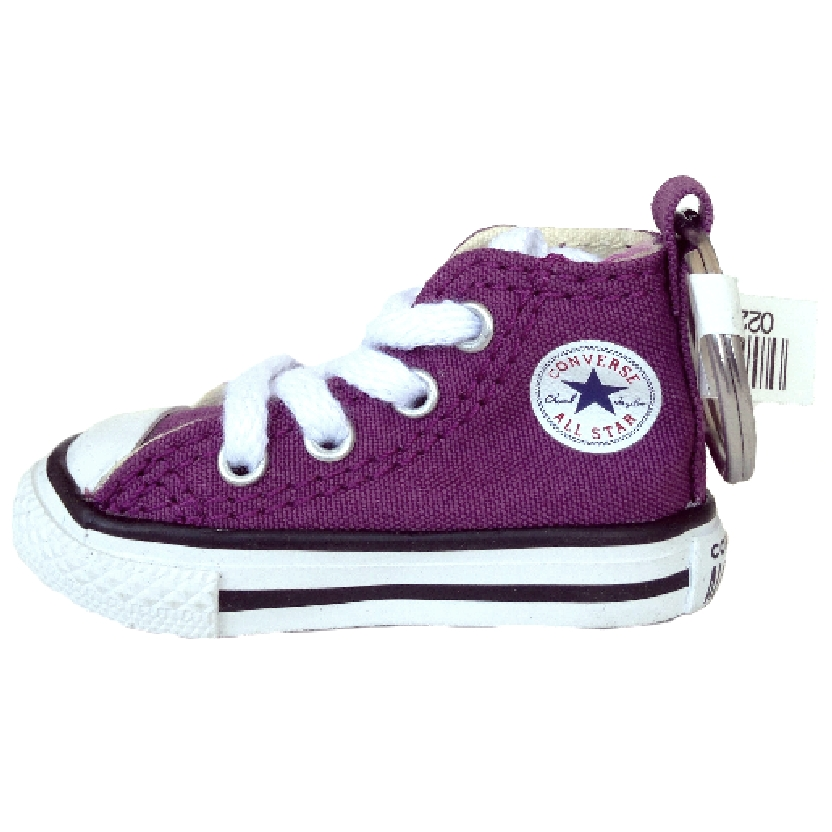 Chaveiro tênis Converse All Star original (roxo)