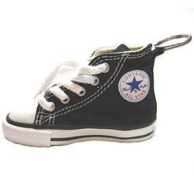 Chaveiro tênis Converse All Star preto