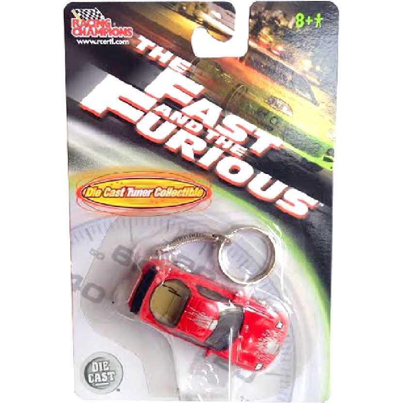 Chaveiro Velozes e Furiosos Mazda RX-7 (1993) Racing Champions/ERTL escala 1/64