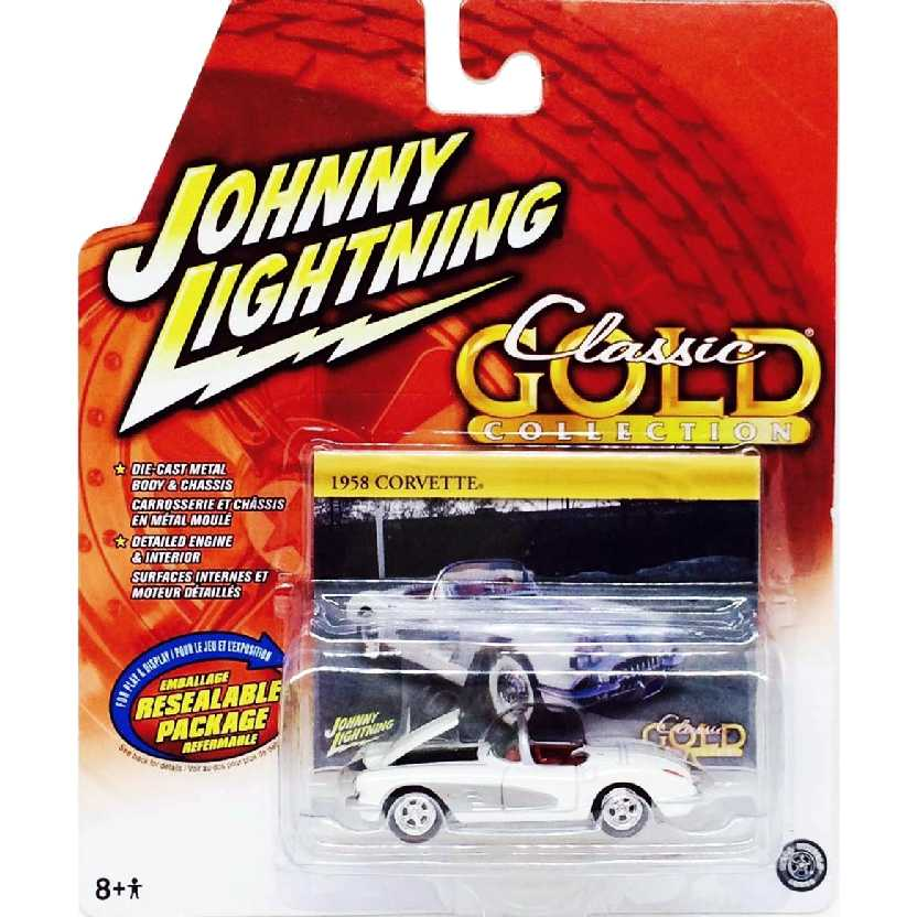 Chevrolet Corvette (1958) 50152 Johnny Lightning escala 1/64