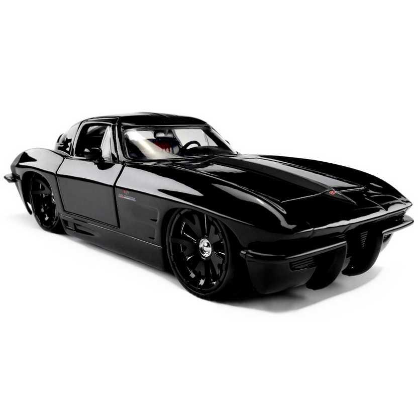 Chevrolet Corvette Stingray Custom (1963) Chevy marca Jada Toys escala 1/24