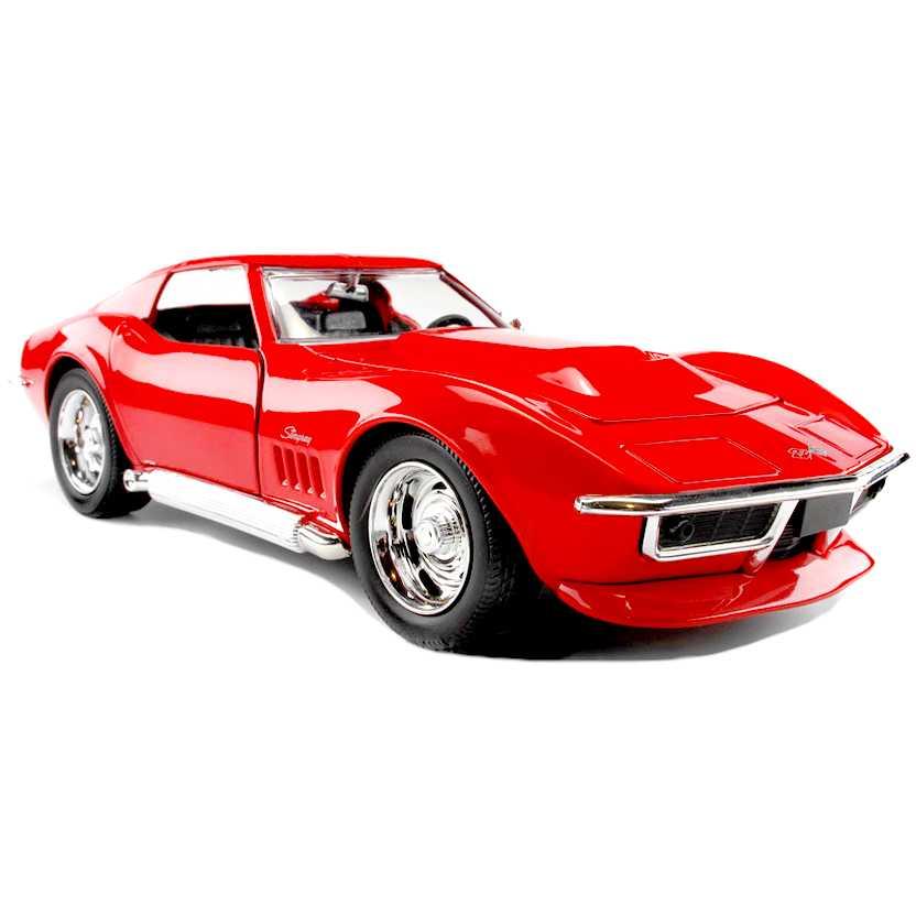 Chevrolet Corvette Stingray Custom (1969) Chevy marca Jada Toys escala 1/24