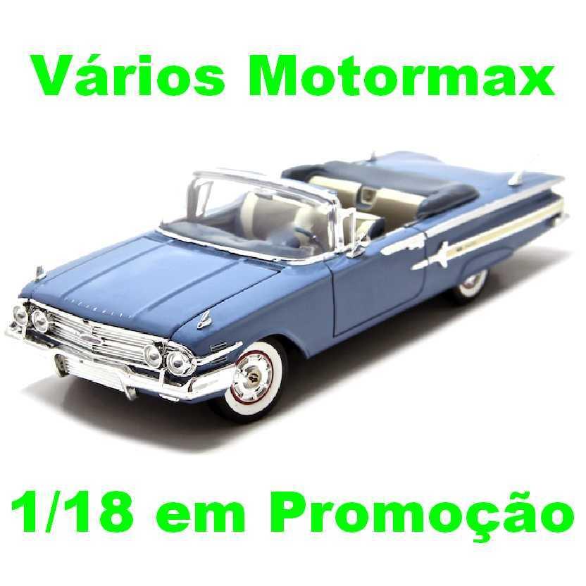 Chevrolet Impala (1960) marca Motormax escala 1/18