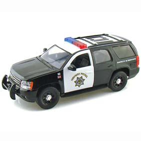 Chevrolet Tahoe Highway Patrol (2010) Police Jada Toys escala 1 24 f466c7542f