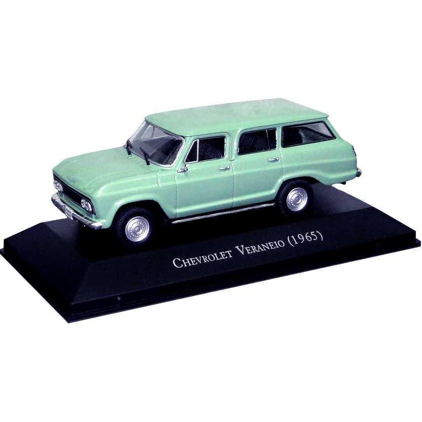Chevrolet Veraneio 1965 Coleção Carros Inesquecíveis Do Brasil escala 1/43