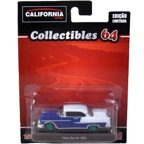 Chevy Bel Air (1955) Greenlight Green Machine California Toys Collectibles 1/64