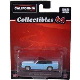 Chevy Camaro (1969) conversível Greenlight California Toys escala 1/64