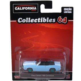 Chevy Camaro (1969) conversível Greenlight Green Machine California Toys 1/64