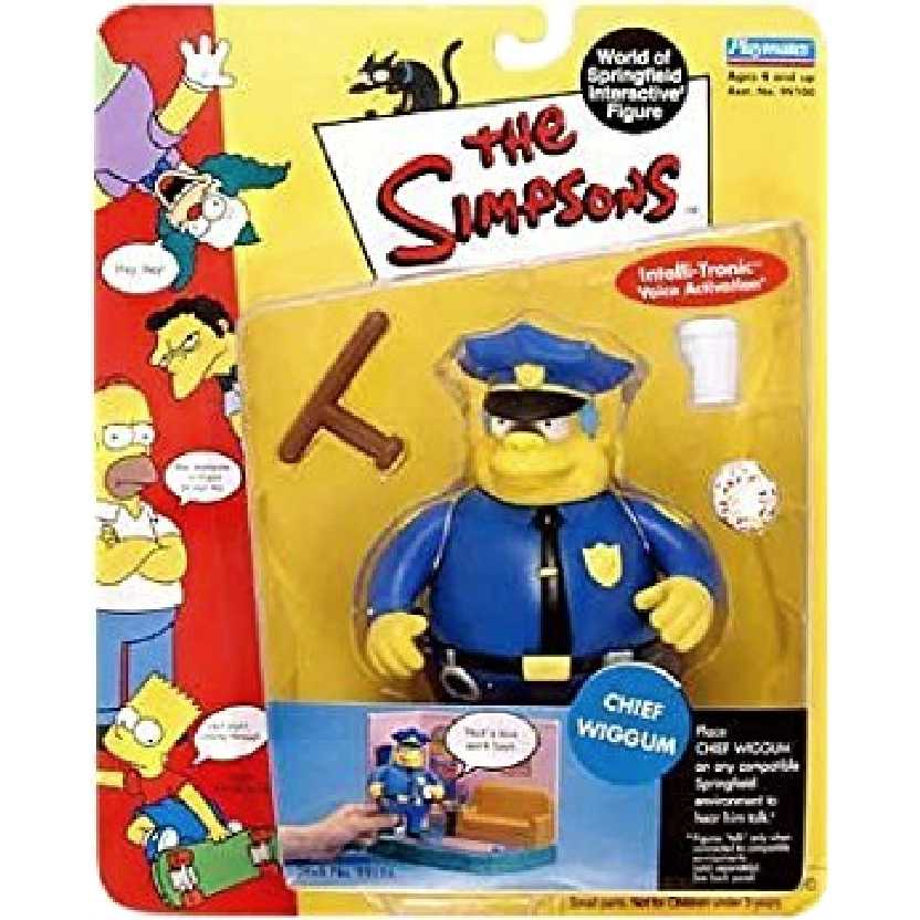 Chief Wiggum - series 2 The Simpsons Playmates action figures