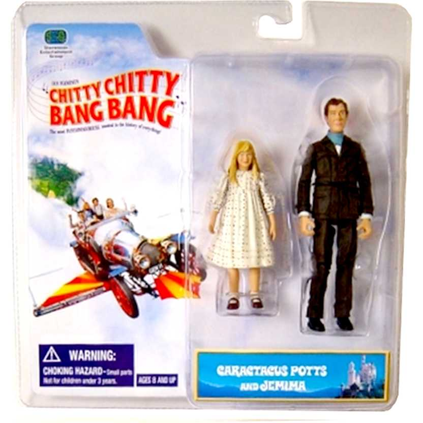 Chitty Chitty Bang Bang - Caractacus Potts & Jemima Action Figures