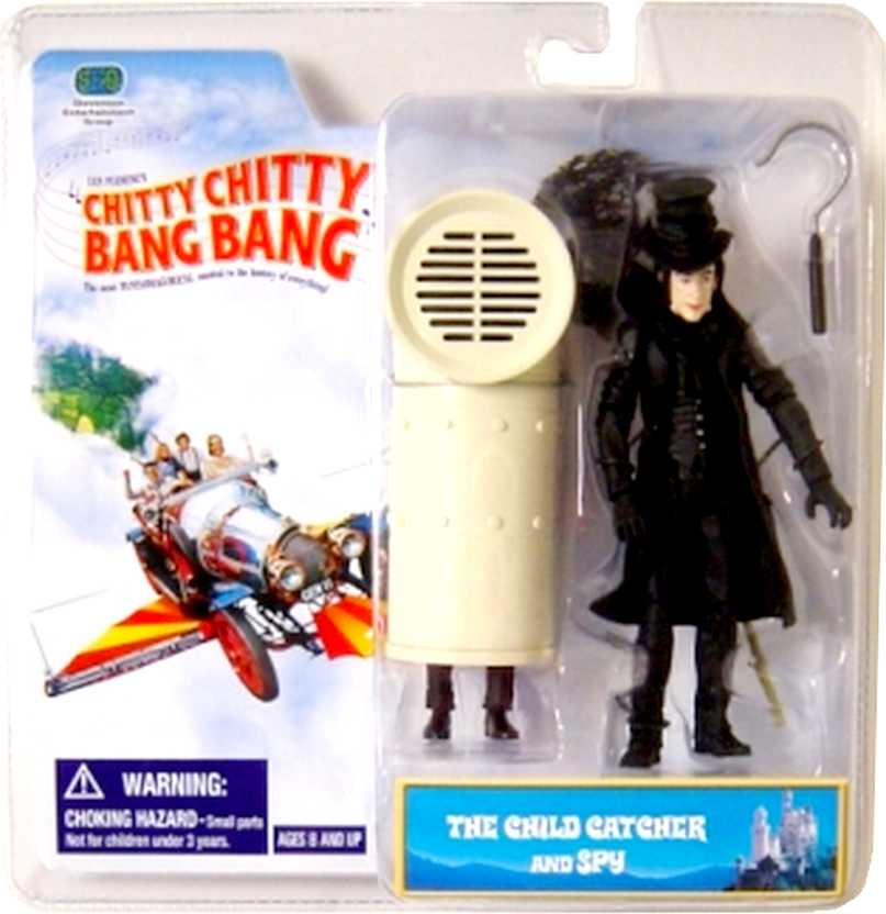 Chitty Chitty Bang Bang - Child Catcher & Spy Action Figures