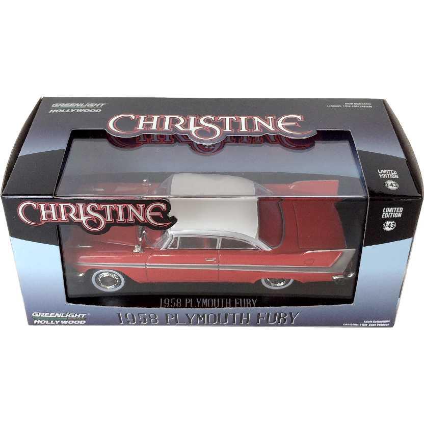 Christine O Carro Assassino (1958) Plymouth Fury Greenlight escala 1/43