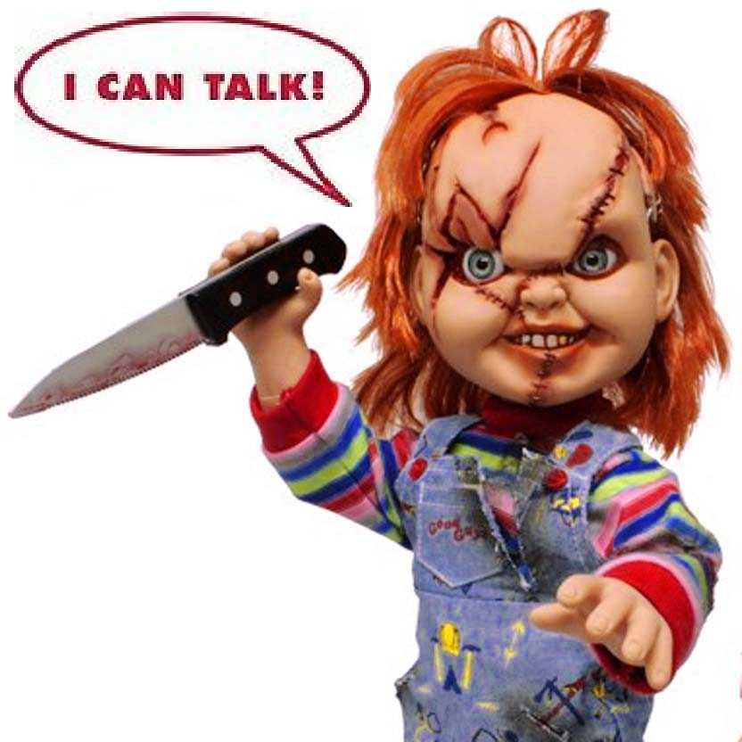 Chucky Mezco Doll Action Figures (filme Brinquedo Assassino) COM SOM