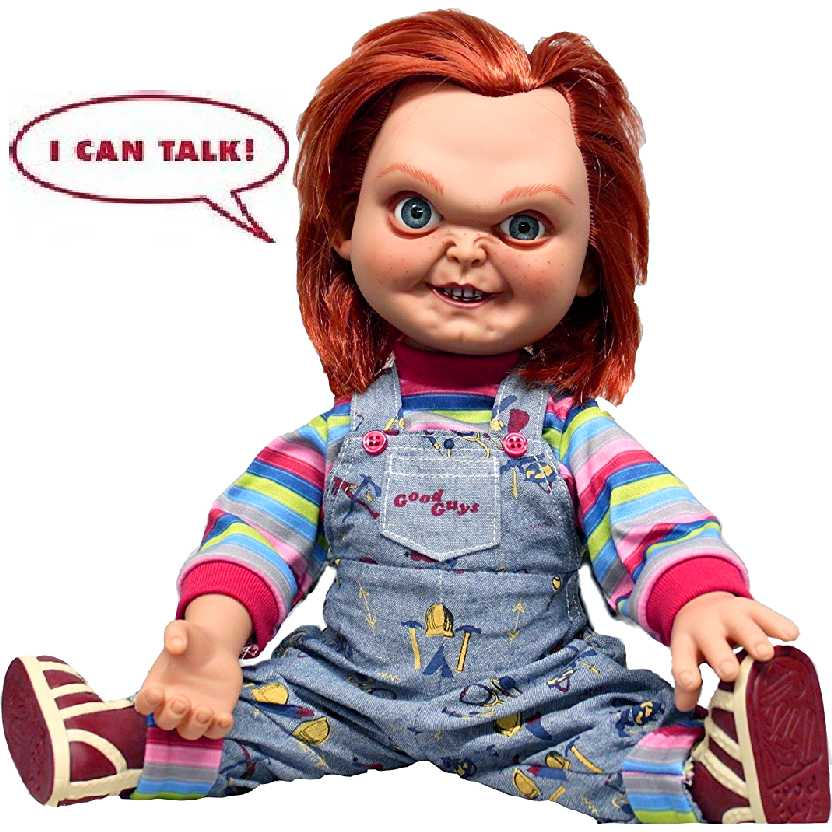 Chucky que fala da Mezco Toyz Childs Play Good Guy Chucky Talking Action Figure