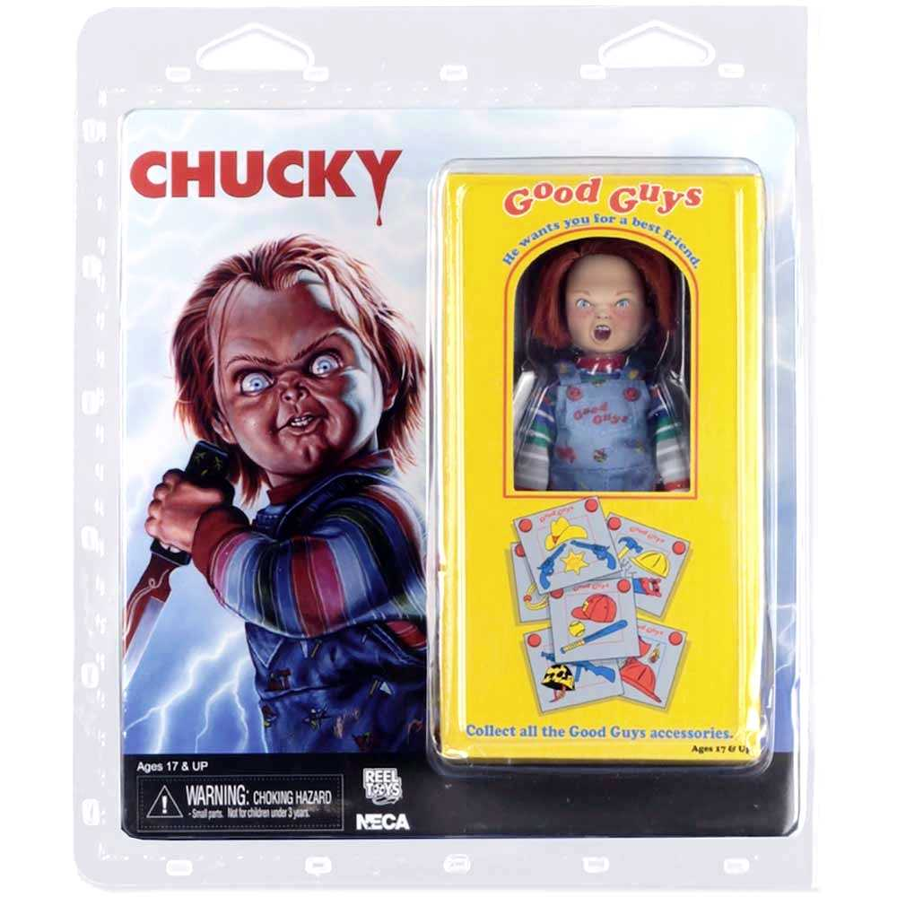 Chucky Retro Good Guys Childs Play (Brinquedo Assassino) Neca Toys action figures