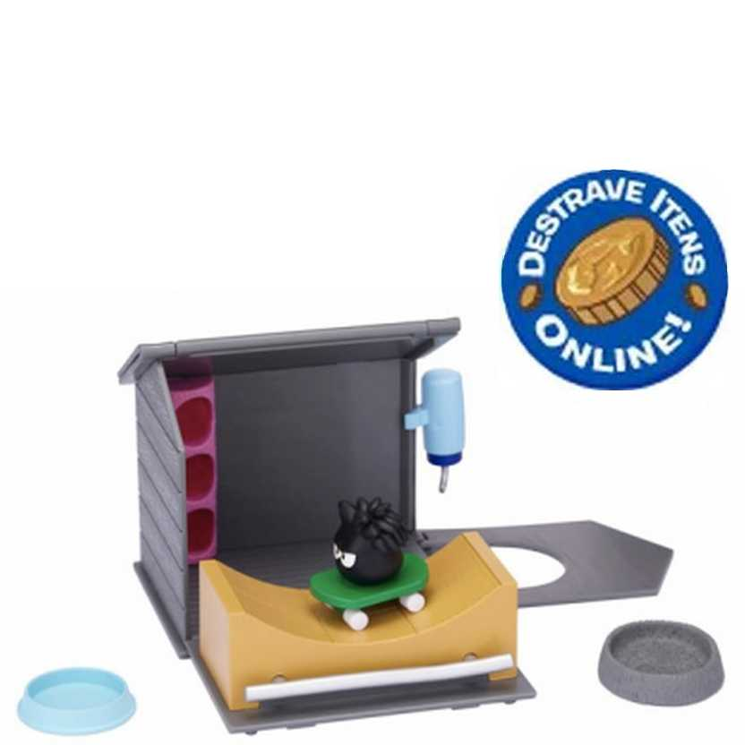 Club Penguin Puffle Play Set Mundo com Rampa de Skate da Long Jump