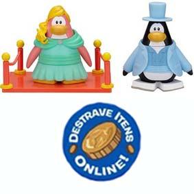 Club Penguin S8 - A Garota do Baile e O Galã de Gala (aberto) com código