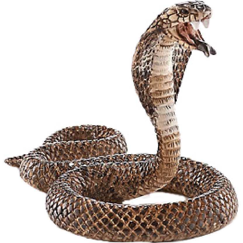 Cobra 14733 marca Schleich King Cobra Naja snake
