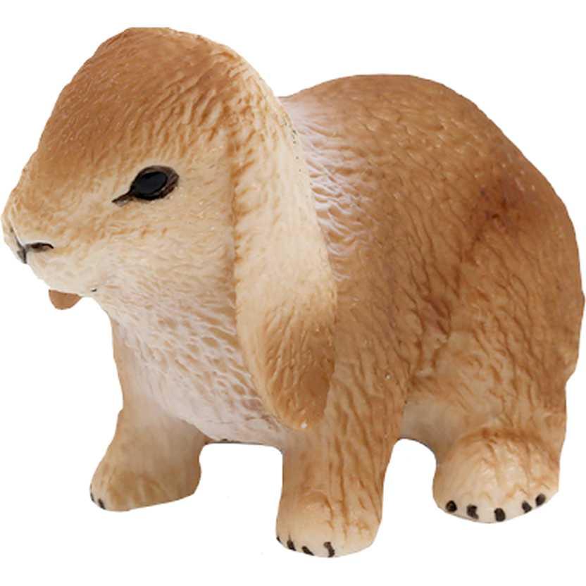 Coelho de orelha caida marca Schleich 14415 Dwarf Lop Rabbit