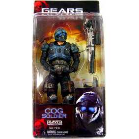 COG Soldier (série 3) Neca Toys Bonecos Gears of War 2