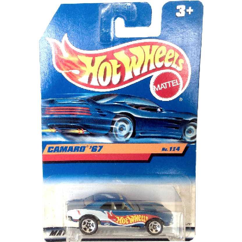 Coleção 1982 Hot wheels Camaro 67 series 114 18791 escala 1/64