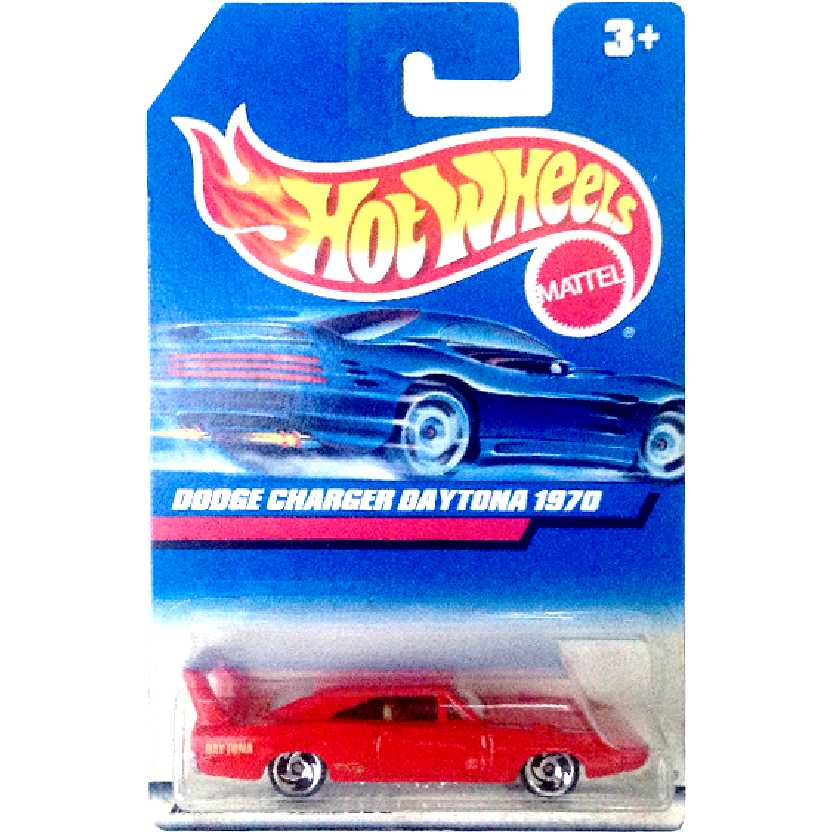 Coleção 1990 Hot Wheels Dodge Charger Daytona 1970 14908 escala 1/64