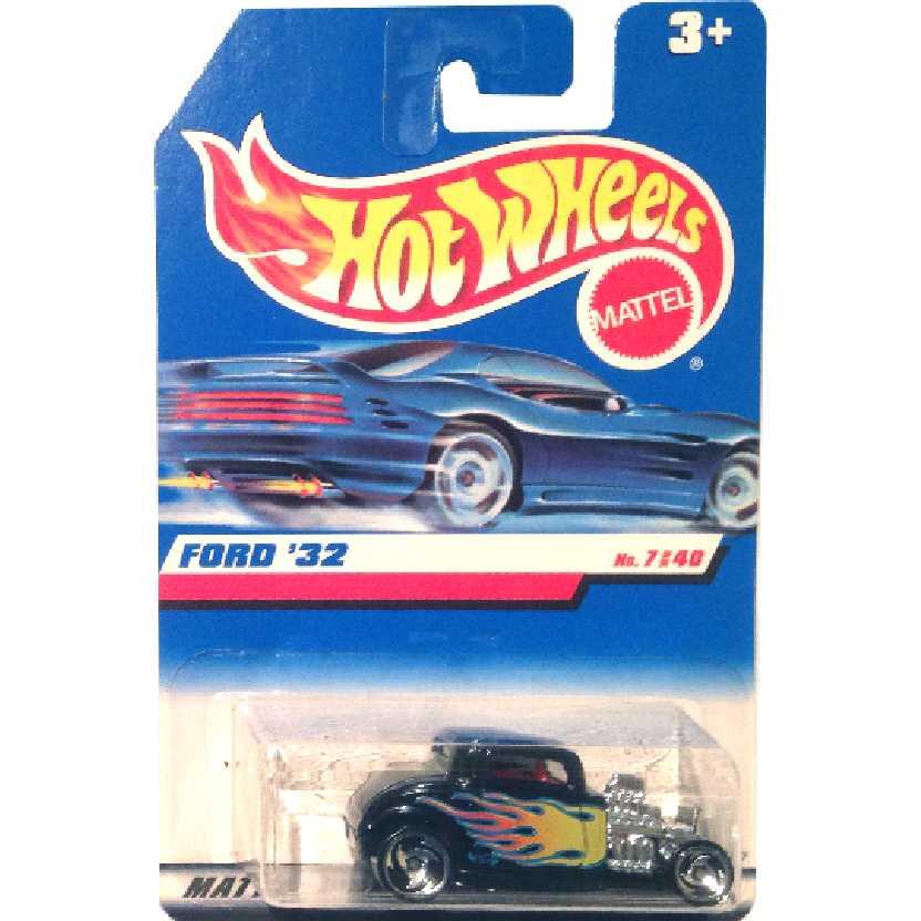 Coleção 1998 Hot Wheels Ford 32 #7140 18587 escala 1/64