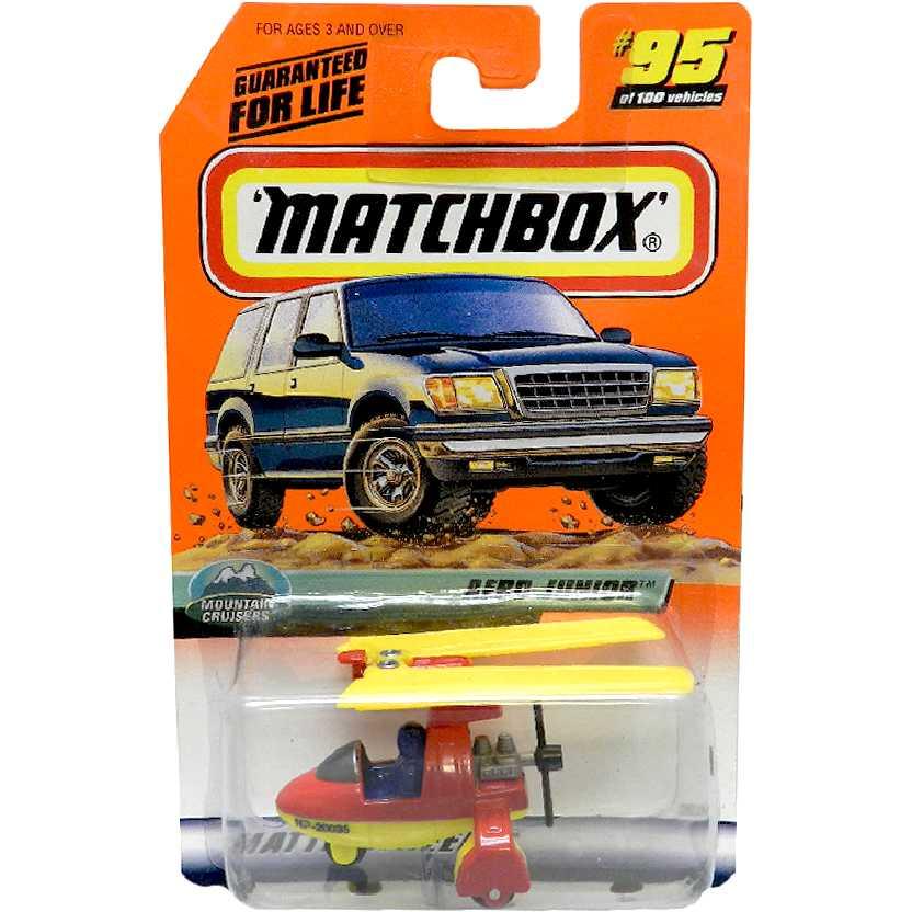 Coleção 1999 Matchbox Aero Junior #95 36269 escala 1/64