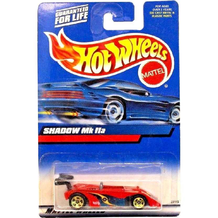 Coleção 2000 Hot Wheels Shadow Mk IIa 27115 escala 1/64
