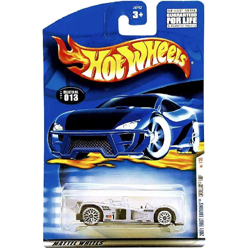Coleção 2001 Hot Wheels Cadillac LMP series 1/36 #013 28742 escala 1/64